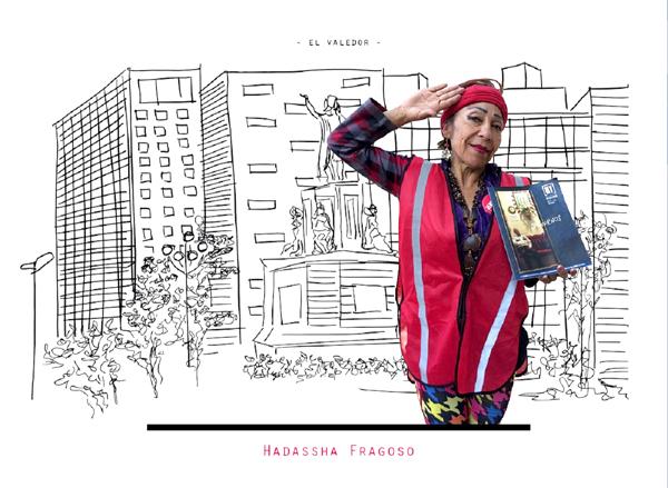 メキシコシティ『ミ・バレドール』の販売者 ハダサー・フラゴソ