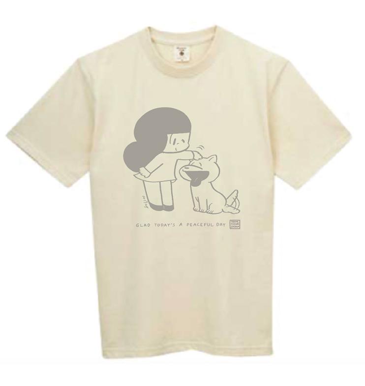 コラボTシャツ:生成り(ユニセックス)※完売