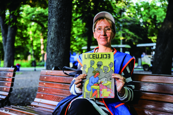 セルビア『リツェウリツェ』販売者 ヴェスナ・アブラモヴィッチ