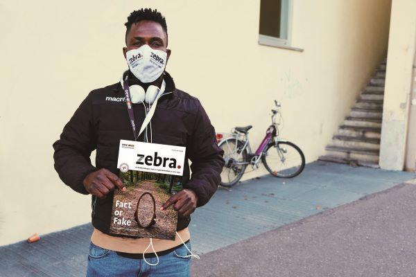 イタリア・南チロル『zebra.』販売者 ローレンス・オディオン